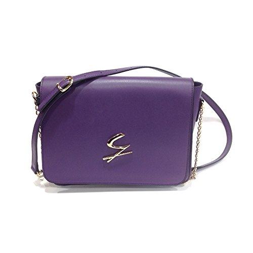 Gattinoni , Sac bandoulière pour femme violet aubergine