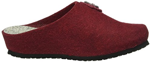 Filz Natural Mules Chaussons Rot rot Rouge Lady Femme Lico wCSBq5z