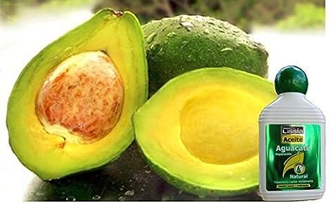 LISSIA-Aceite de aguacate Rescata las puntas, humecta, vitamina B y E. Hidrata el cuero cabelludo. Para el cuerpo repara la piel maltratada 235ml/7.99oz (Lissia) * Avocado (Como Repara)