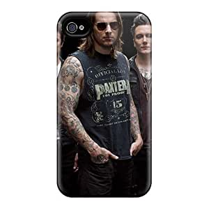 Anti-Scratch Cell-phone Hard Covers For Iphone 4/4s (buo16857rntU) Support Personal Customs Nice Avenged Sevenfold Band A7X Pictures