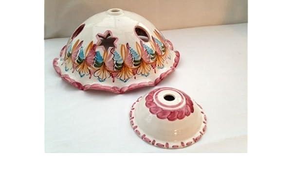 Marcas. Auténtica lámpara de techo, de cerámica español ...