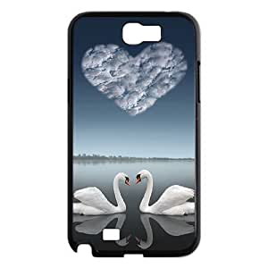 case Of Swan Customized Bumper Plastic Hard Case For Samsung Galaxy Note 2 N7100