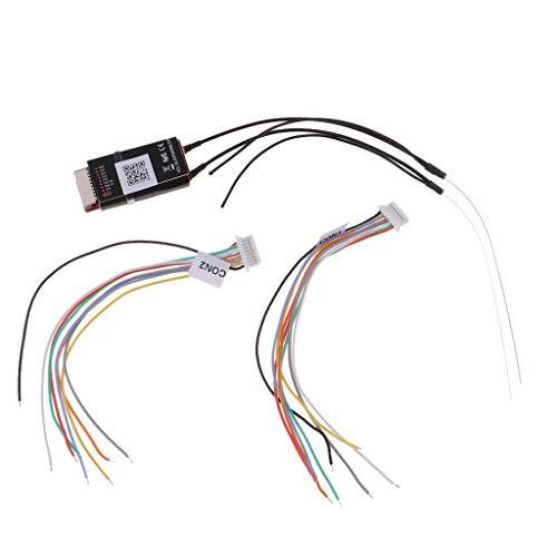 Fityle R9 Slim 900MHz Long Range Telemetry Diversity Mini Receiver for Frsky X-lite