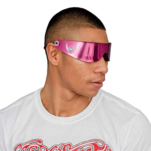 Hitman Halloween Costume (Bret Hitman Hart Vintage Wrap Around Sunglasses Halloween Costume Accesory)