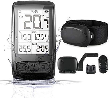 FENGHU Bicicleta Ordenador Cronómetro GPS Inalámbrico Bluetooth ...