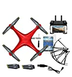 Newest RC Camera Drone Helicopter Quadcopter with HD WiFi FPV Camera Auto Return