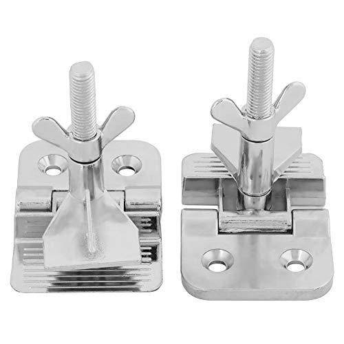 Akozon Schmetterling Scharnier Clamp Siebdruck Metallrahmen Scharnier Clamp DIY Hobby Tool