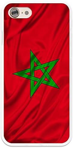 BIPOP CASE Coque Drapeau Maroc iPhone 6 / 6S - Protection Souple