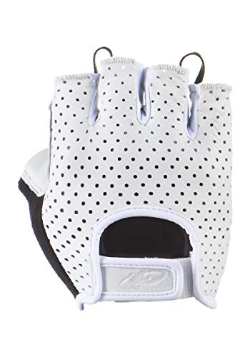 Lizard Skins Cycling Aramus Classic Gloves (White, X-Large)