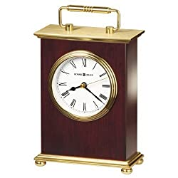 Howard Miller 613-528 Rosewood Bracket Table Clock by Howard Miller