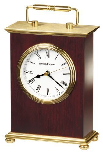 (Howard Miller 613-528 Rosewood Bracket Table Clock by Howard Miller)