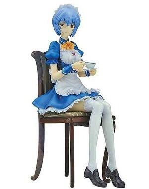 Neon Genesis Evangelion: Rei Ayanami Maid - Helmet 1/2 Scale