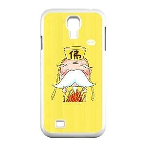 Samsung Galaxy S4 9500 Cell Phone Case White CariCartoon Funny Cartoon 4 S1C6TX