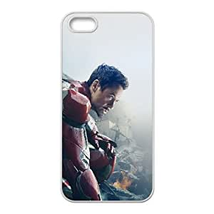 iPhone 4 4s Cell Phone Case White avengers age of ultron ironman hero art SLI_580711