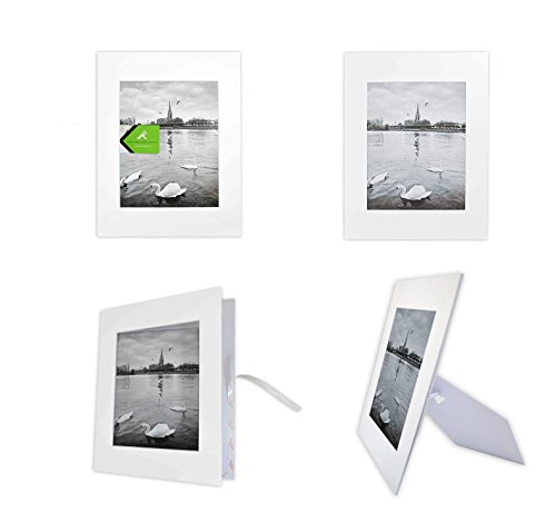 golden-state-art-pack-of-10-white-11x14-self-assemble-photo-mat-for-8x10-picture-with-backing-board-