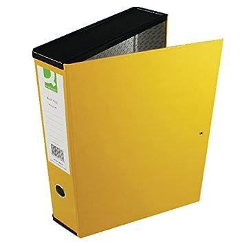 date de sortie: 7ed7b 1e825 Q-Connect Boîte de classement Papier ministre 5 jaune ...