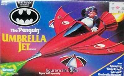 Batman Returns The Penguin Umbrella Jet (Penguin Man From Batman)