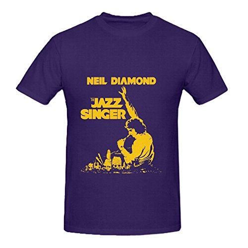 Neil Diamond The Jazz Singer From Motion Picture Hits Mens Cute Tee Shirts