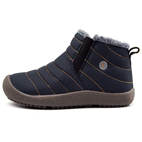 b669324c67f VAMV Kids Snow Boots for Boys Girls Waterproof Winter Warm Shoes Lightweight