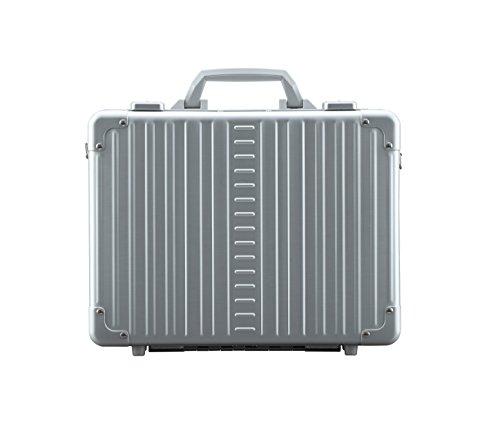 Aleon 15'' Business Attache Aluminum Hardside Business Briefcase (Platinum) Sliver by ALEON (Image #4)