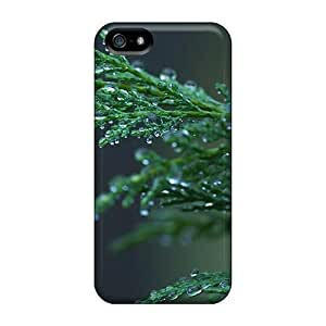 New Premium DbRPCEy2472JwCUZ Case Cover For Iphone 5/5s/ Raindrops On Cypress Protective Case Cover