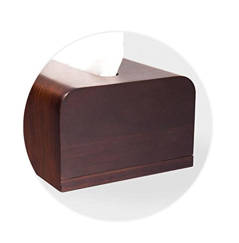 Creative Wooden Tissue Box Holder Cover for Home Office Car Decor by YANXH home (Image #7)