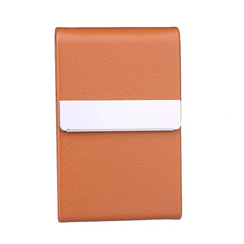 kicode Sticky Fumador portátil tarjeta caso titular caja de cigarrillos fumar tabaco piel sintética bolsillo de regalo,...