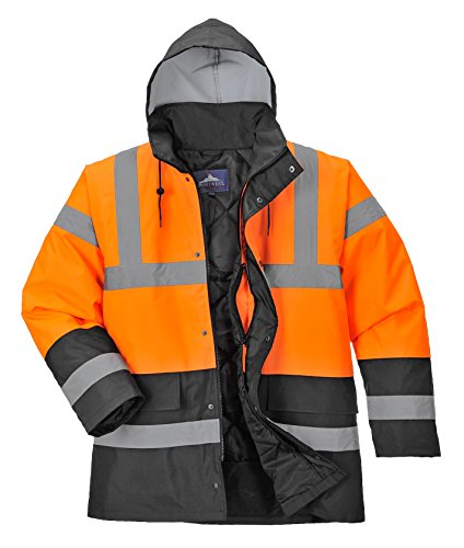 Portwest Contrast Traffic Visibility Raincoats product image