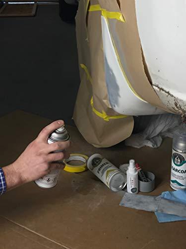 ERA Paints for Tesla Model-S 2012-2016 (PBSB Eclipse Black) Automotive Spray Paint Clearcoat Primer and Pro Kit by ERA Paints (Image #4)