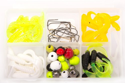 Bullet Weights Ultra Steel Interchangeable Jig Kit (66 Piece Kit) ()