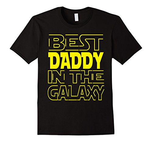 Men's Best DADDY In The GALAXY T-Shirt