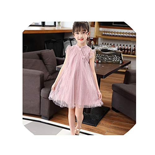 Price comparison product image Dress Girls Princess Children's Party Dress Lace Kids Dresses Elegant Kids Clothing 6 8 12 Years Children's Costumes for Girl, As Picture1, 4T