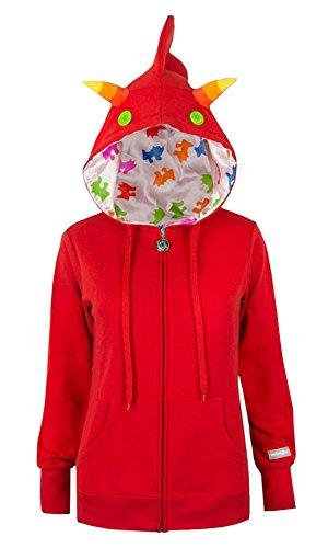 Homestuck Terezi Costume Zip-Up Hoodie Small