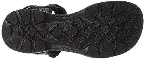 Skechers Sandal Outdoors Black Women's Walk Gray Sport Runyon Go qqf6CwF
