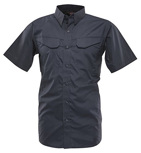 TRU-SPEC Men's Lightweight 24-7 Short Sleeve Field Shirt, Navy, XX-Large