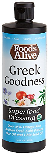 (Superfood Dressing, Greek Goodness, Organic,)