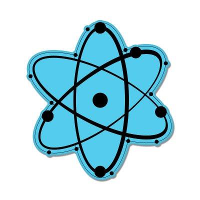 Atom Physics Science Vinyl Sticker - Car Window Bumper Laptop - SELECT SIZE