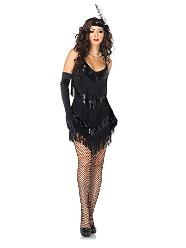 Sexy Flapper Girl Costumes - Sexy Roaring 20s Honey Flapper Women's Costume