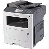 Lexmark MX410de Multifunction Printer-MFP Printer, 40ppm, 250Sht Cap, 18-2/5x15x18-3/5, GY