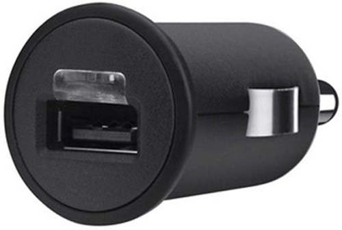 Belkin F8J018ttBLK 1A MIXIT Car Charger - Retail Packaging - Black by Belkin