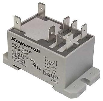 Enclosed Power Relay, 8 Pin, 12VDC, DPDT