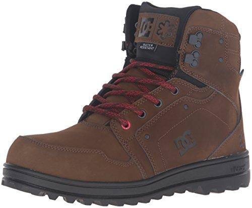 DC Shoes Mens Shoes SPT - Mountain Work Boots - Men - US 6 - Black Brown/Black US 6 / UK 5 / EU 38