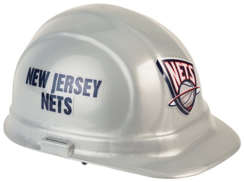 NBA New Jersey Nets Hard Hat (Jersey Wincraft Hat)