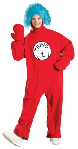 Dr. Seuss The Cat in the Hat Costume - Standard - Chest Size 44