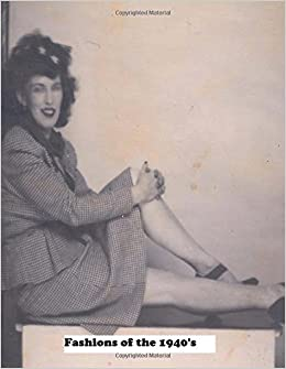 Lady In A Tweed Business Suit And Saucy Hat Fashions Of The 1940 S