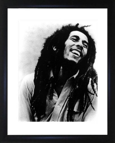(Bob Marley Framed Photo)