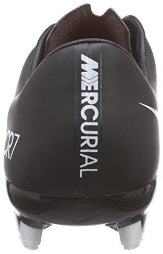 Nike Mercurial Veloce Ii Fg Cr7 Herren Fußballschuhe Schwarz (Black/White-Total Crimson 018)