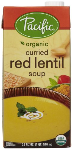 (Pacific Foods Curried Red Lentil Soup-32 Oz)