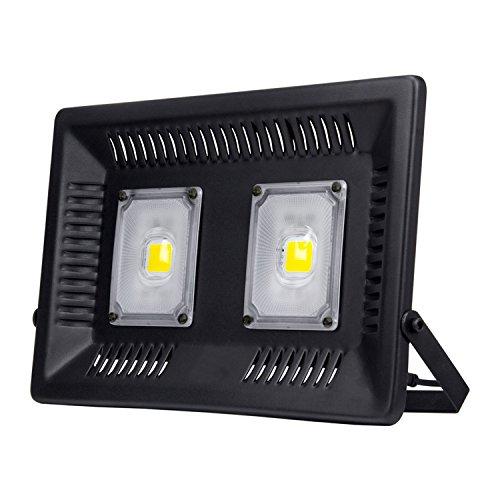 Led Flood Light Outdoor 100W,Unpopular New Craft Ultra-Thin Floodlights, Waterproof IP66 Super Bright Outdoor Work Light, 8000Lm Garage, Garden, Lawn and Yard Lights (100W 6000K) by UNPOPULAR
