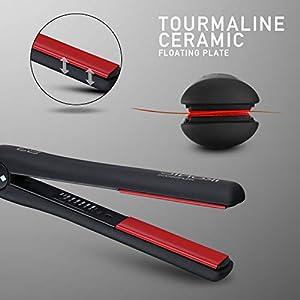 IKONIC S – 3 CERAMIC HAIR STRAIGHTNER BLACK